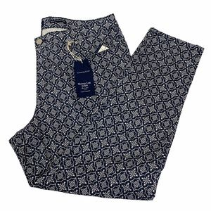 Charter Club Bristol Skinny Ankle Pant Navy 18
